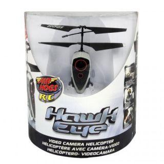Air Hogs Radio Controlled Hawk Eye Video Camera Helicopter Grey
