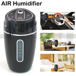 Portable USB Car Home Office Air Humidifier Purifier DC 5V Adaptor Cup