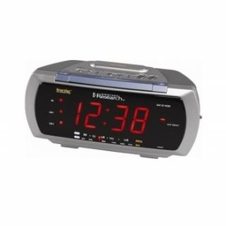 EMERSON SMARTSET AUTO TIME SET DUAL ALARM CLOCK RADIO LAMP CONTROL