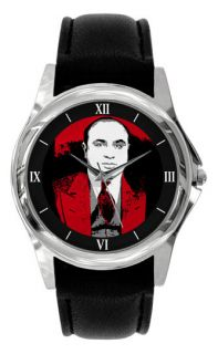 Al Capone Ladies Watch Gangster Mob Mafia PO02