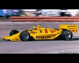 1988 Penske PC 17 Rick Mears Pennzoil Z 7 Special AMT Ertl Model Kit