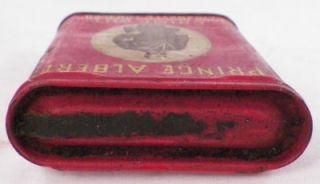 Vintage Prince Albert Cigarette Tobacco Tin Crimp Cut Long Burning