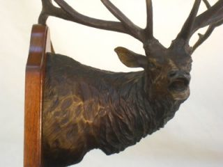 Boone Crockett #3 Rocky Mountain Elk Foundation Dennis Jones Bronze