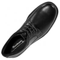 Dunham Huntington Lightweight Men Shoe Black Leather Oxford Retail $