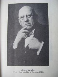 1970 Regardie Eye in Triangle Signed Aleister Crowley