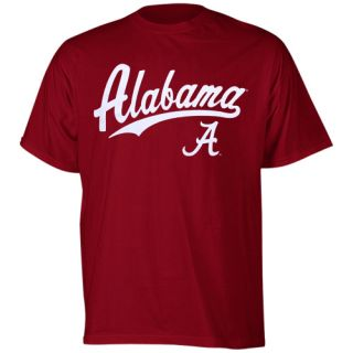 alabama crimson tide script one t shirt crimson at the next alabama