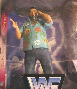 Ring Wrestling Action Figure Captain Lou Albano WWF WWE Jakks Complete