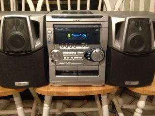 AIWA STEREO SYSTEM CX NAJ70 NSX AJ70 Muti CD Player Double Tape BOOM