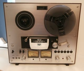 Akai GX 270D Glass xTal Ferrite Head Reel to Reel Tape Deck Recorder