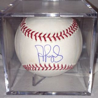 Albert Pujols Signed Autographed MLB Baseball Ball JSA Full Letter