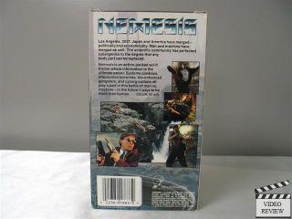 Nemesis VHS 1992 Olivier Gruner Albert Pyun 022389181330