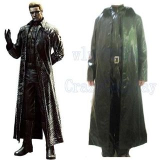 New Resident Evil Albert Wesker Anime Cosplay Costume