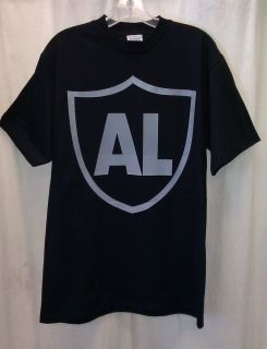 Al Davis Oakland Raiders Tribute Shirt Black Brand New Just Win Baby