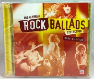 Time Life The Ultimate Rock Ballads Collection Burning Heart Brand New