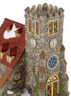 Dickens Village Church of St Alban Brand New 2012 Free Shipping