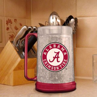 alabama crimson tide 16 oz logo freezer mug