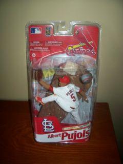 2011 Albert Pujols St Louis Cardinals McFarlane Figure