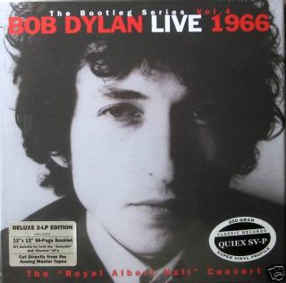 Bob Dylan Royal Albert Hall Bootleg Series Vol 4 200 Gram VINYL LP