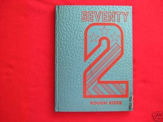 1972 Roosevelt Military Academy Yearbook Aledo IL