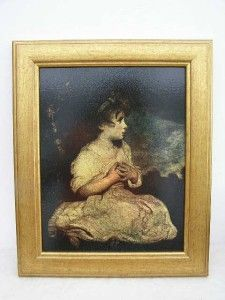 Joshua Reynolds Age of Innocence Gilt Framed Oil Painting Picture