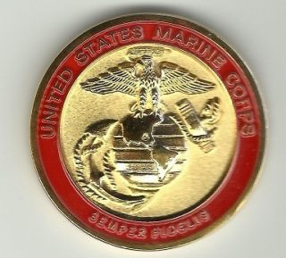 OF THE MARINE CORPS USMC GENERAL ALFRED M GRAY 87 91 CHALLENGE COIN