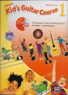 Alfreds Kids Guitar Course, Vol. 1   Book, Enhanced CD & DVD