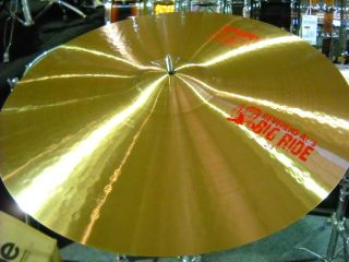 24 Reverend Als Big Ride Alex Van Halen Signature Ride Cymbal