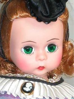 1992 Madame Alexander MADC Club Doll 8 Little Miss Godey Exclusive Ed