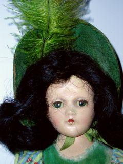 Antique 11 Composition Madame Alexander SCARLETT OHARA Doll