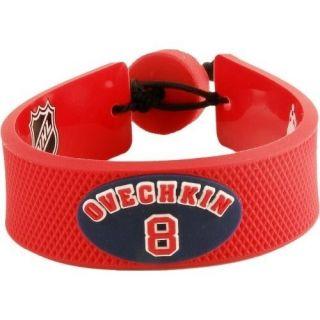 Alexander Ovechkin Washington Capitals Team Color NHL Jersey Bracelet