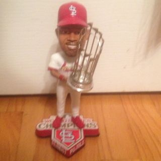 Albert Pujols Bobblehead St Louis Cardinals 2011 World Series Champs