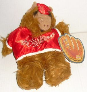 ALF Plush Puppet Doll Baseball Player 10 Burger King