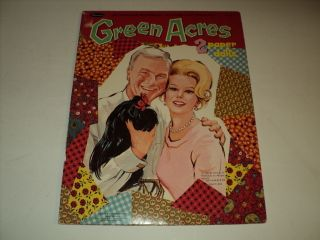 GREEN ACRES PAPER DOLLS EVA GABOR EDDY ALBERT