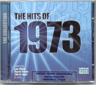 1973 Hits Lou Reed David Essex Albert Hammond CD New