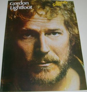 Gords Gold Gordon Lightfoot Piano Vocal Chords Songbk