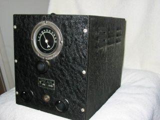 Very rare model Q5 PEAK Pre selector serial number 218. Hammarlund