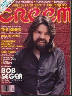 Seger Chrissie Hynde Paul McCartney Alice Cooper Kinks Nugent + 9 1980
