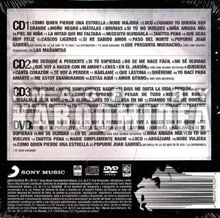 ALEJANDRO FERNANDEZ Lo Esencial 3 CD s + DVD NEW MEXICAN SET ORIGINAL
