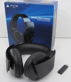 Official Sony PS3 Wireless Headset Plus Other Accessories for Parts or