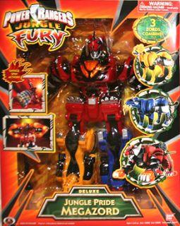 Power Rangers Jungle Fury Pride Deluxe Megazord Figure