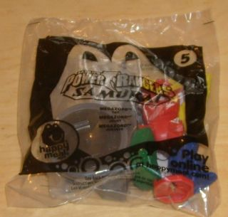 McDonalds Happy Meal Toy Power Rangers Samurai Megazord 5 NIP New