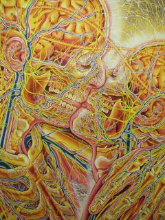 ORIGINAL SIGNED LIMITED EDITION PRINT  ALEX GREY  VALENTINES SPECIAL