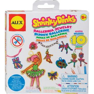 alex toys shrinky dinks ballerina jewelry 494b make your own jewelry