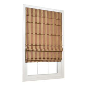 ALLEN ROTH 36 W x 72 L SIENNA Light Filtering Fabric Roman Shades NEW