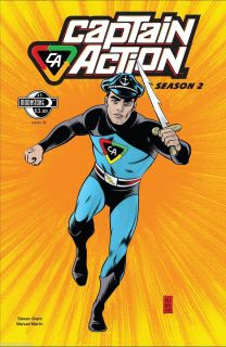 Comic Book Action Boy Ideal Moonstone Season 2 Mike Allred New
