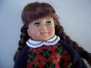American Girl Mini Doll Molly All Original Clothes Retired