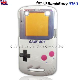Game Boy Hard Case Cover for Blackberry Curve 9360