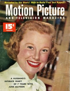 MOVIE MAGAZINE JUNE ALLYSON BARBARA RUSH GORDON MacRAE JEFFREY HUNTER