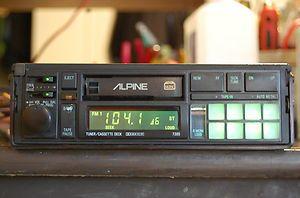 Vintage Alpine Car Stereo