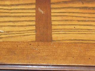 Furniture Wood End Table Inlaid Top Serial 2872150 Altavista VA